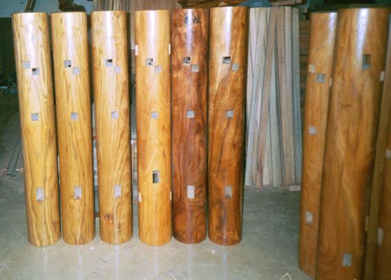 Buick Yip Wing Chun Unique Wing Chun Wooden Dummy Mook Yan Jong
